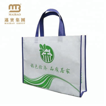 customized logo printing merchandise tote bag